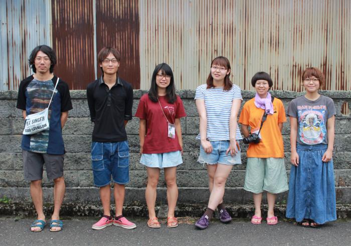 アートキャンプ学生
