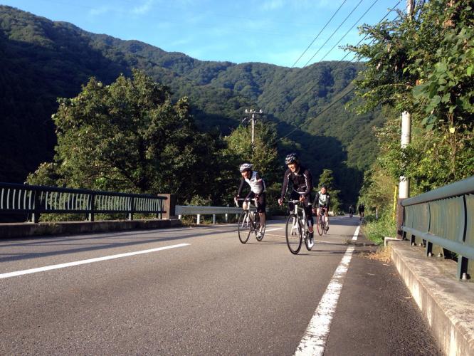 自転車部活動1